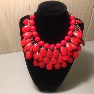 Jewelry - Boho Signed Adjustable Chunky Necklace #41A